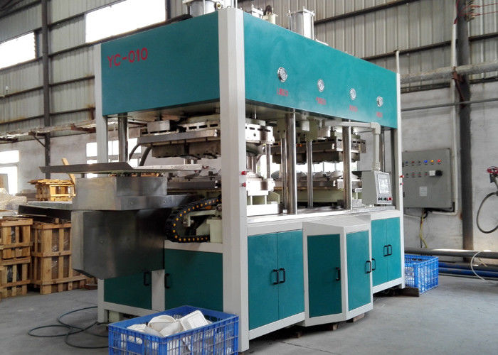 Fully Automatic Thermoforming Machine For Paper Pulp Tableware 7000Pcs / H