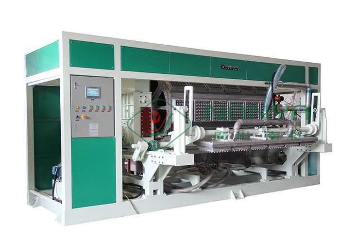 Rotary Type Paper Egg Tray Machine For Egg Tray / Egg Carton / Egg Box Hot Air Forming Production Line