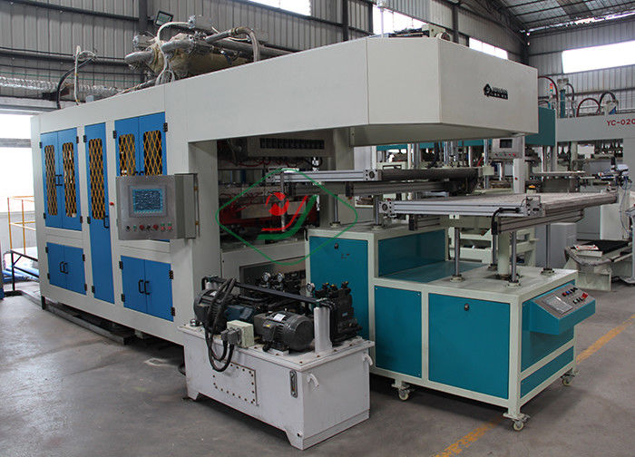 High Capacity Pulp Moulded Tableware Making Machine / Clamshell Production Line