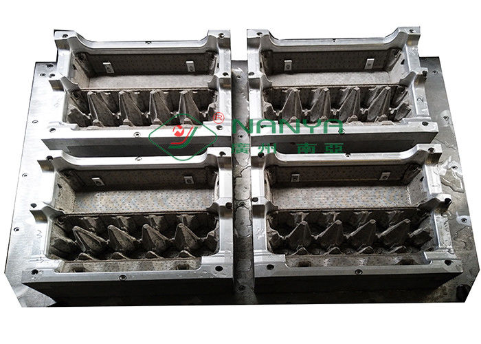 10 Cells Aluminum CNC Tool Egg Carton Pulp Mold Customized Egg Box Dies