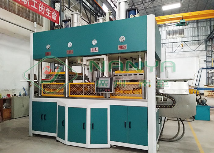 60kg/h Molded Pulp Machine For Mobile Phone Packaging Insert