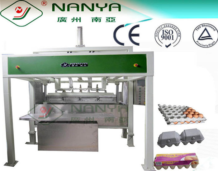 Reciprocating Forming Semi-auto Egg Carton Making Machine / Machinery 600Pcs/H