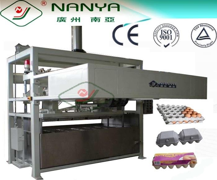 Professional Pulp Molding Egg Tray Making Machine / Equipment 1200Pcs/H