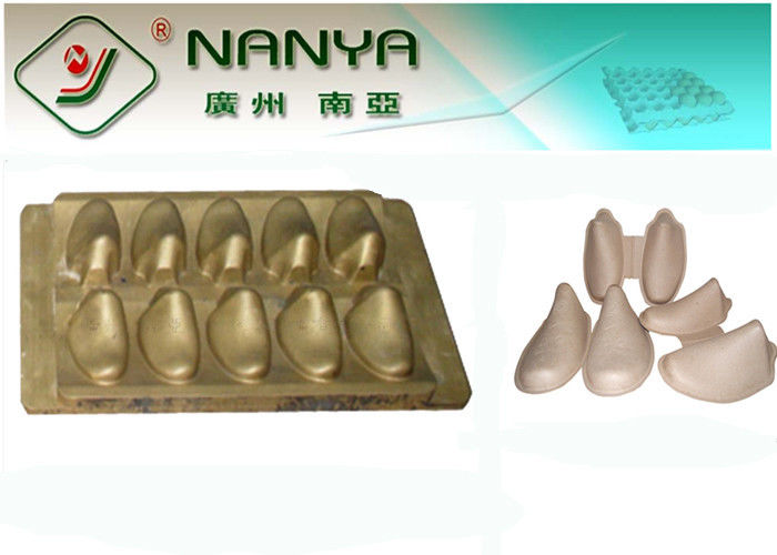 Recycled Paper Pulp Mold Shoe Stretcher Mould with Bronze Color