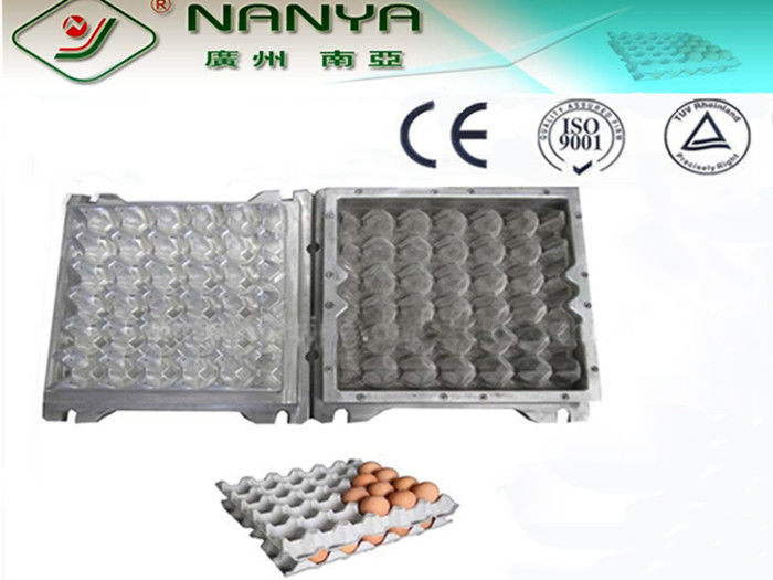 PC Plastic / Aluminum Egg Tray Mould with CAD computerized sysytem