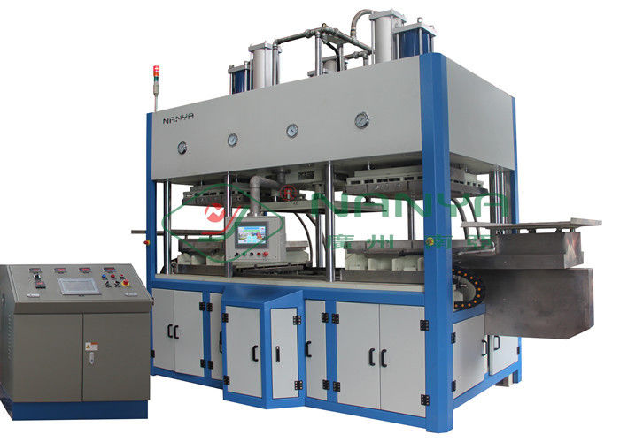 Thermoforming Paper Pulp Molding Machine For Top Grade Fine Molded Pulp Products